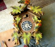 Vintage Cuckoo Clock 1960and039s 1970and039s Not Working For Fix Or Parts Helmut Kammarer