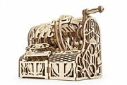 New Ugears Mechanical 3d Puzzle Wooden Cash Register Model For Assembly