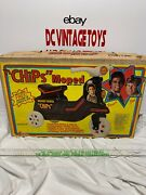 Vintage 1981 Empire Andldquochips Tv Show Moped Ponch And Jon Very Rare Look