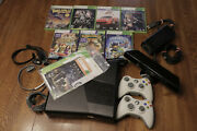 Xbox 360 S Console Bundle With Kinect And Games
