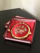 Handmade Embroidery Compact Mirror From Korea. Great Gift And Souvenir