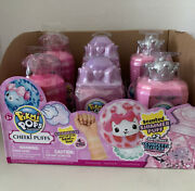 Pikmi Pops Cheeki Puffs Medium Collectible Scented Shimmer Plush Lot Of 6