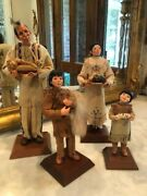 Simpich Character Dolls - Thanksgiving Collection Native American Family