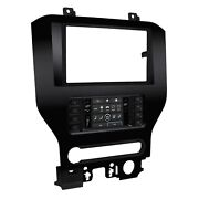2din Double Din Car Radio Mount Cover For Ford Mustang From 2015 8 Screen