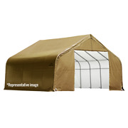 Sheltercoat Custom Peak Shelter 10 X 48 X 8 Ft.