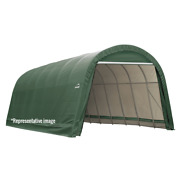 Sheltercoat Round Wind And Snow Rated Shelter 12 X 48 X 8 Ft.
