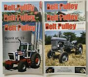 Lot Of 6 Belt Pulley Tractor Collector Magazines 2006 Engines Motors Ag 4-h Farm