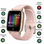 Bluetooth 5.0 Smart Watch Temperature Monitoring Bracelet For Iphone Android Ios