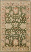 Vegetable Dye Moos Green Oushak Egyptian Oriental Area Rug Hand-knotted 8x11 Ft
