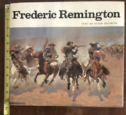 Frederic Remington Text By Hassrick 1973 94 Plates 60 Full Color Huge Book Vgood