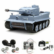 Newest Henglong Germany Tiger 1 Rc Tank With Steel Gearbox Metal Upgrades