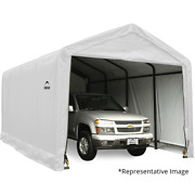 Sheltertube Wind And Snow Rated Garage 12 X 30 X 11 Ft.