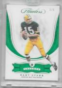 2018 Panin Flawless Emerald Bart Starr Green Bay Packers 1 Of 5