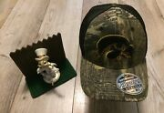 Iowa Hawkeyes Cap Zephyr Fitted Remington Camo Hat M/l New