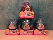 Pikmi Pops Cheeki Puffs Scented Shimmer Puff Lot Of 4 New Sealed Blind Boxes