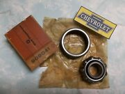 Outer Front Wheel Bearing Gm 909041 55 Chevy Nos/nib/oem