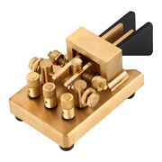 Automatic Copper Iambic Double Paddles Keyer Dx-kv Cw Morse Code For Transmitter