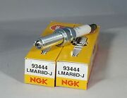2-ngk Lmar8d-j / 93444 Spark Plugs For Bmw Motorcycles Liquid Cooled