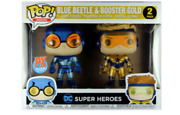 Funko Dc Comic Blue Beetle And Booster Gold 4 Action Figure Pk