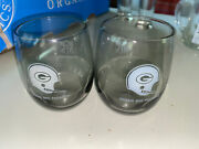Lot 2 Vintage 1970and039s Green Bay Packers Glasses Tumbler Medium Size 4915