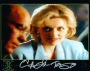 Amanda Tapping As Carina Sayles - The X-files Genuine Signed Autograph