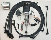 Ford 55-57 Thunderbird 272 292 312 Tach Drive Hei Distributor + 60k Coil +wires