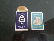 C1960s Vintage Tennents Lager Waddingtons Sealed/unused Adv Playing Cards