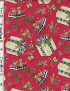 Red Christmas Holiday Gift Toss By Springs Creative Bty