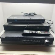 Dvd Blu Ray Players Lot Of 3 Magnavox Insignia Black Media Home Theatre Devices