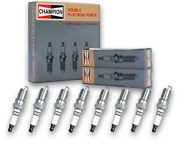 8 Pc Champion Double Platinum Spark Plugs For 1997-2010 Ford F-150 5.4l V8