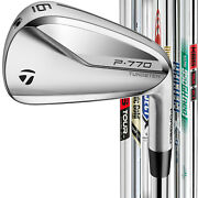 Taylormade P770 2020 Custom Left Handed Irons - Pick Your Set And Shaft