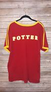 The Wizarding World Of Harry Potter Gryffindor Quidditch Jersey Shirt Size Small