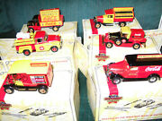 Matchbox Models Of Yesteryearcoca Colasix Unitscomplete Set New In Box