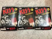 Kiss Thunderbolt Peters Ice Cream Box Empty Lot Of 3 And 1 X Full Band Wrapper Set