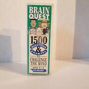 Brain Quest 1500 Questions And Answers To Challenge The Mind, 4th Grade Ages 9+
