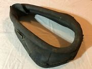 Antique Vintage Leather Horse Collar Harness Wagon Mule Western Country Decor D