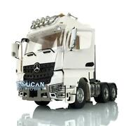 Lesu Rc Metal 66 1/14 Chassis Roof Light Hercules Actros Cabin Tractor Truck