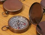 Lot Of 250 Brass Lid Compass Nautical Vintage Collectible Gift