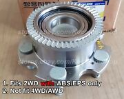 2wd With Abs Front Wheel Hub Bearing Assy Ssangyong Rexton 02/03march/2011+