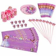 Disney Sofia The First Party Favor Pack 48 Pieces Birthday Party Supplies