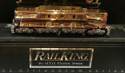 2000 Mth Millenuim Gold Plated Gg1 Engine And 5 Car And03970 Madison Passenger Set