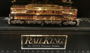 2000 Mth Millenuim Gold Plated Gg1 Engine And 5 Car '70 Madison Passenger Set