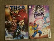 Thor 4 And Silver Surfer Black 4 Variant Marvel Comics 1st Black Winter Cameo