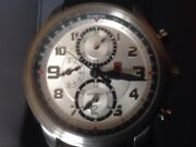 Swiss Army Victorinox Infantry Vintage Automatic Chronograph Watch 241449 Minty