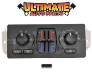 Manual Temperature Climate Heater / Ac Control For 03-06 Chevy Suburban
