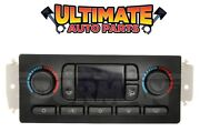 Atc / Auto Temperature Climate Heater / Ac Control For 03-07 Hummer H2