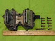 Johnson-evinrude 1990s Era 50hp Intake Manifold Assembly And Leaf Plate Assy