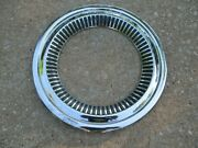 Nice 57 58 Chevy Cameo Deluxe Truck Wheel Trim Molding Beauty Ring 3