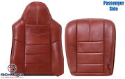 2008-2010 Ford F250 F350 King Ranch -passenger Side Complete Leather Seat Covers