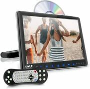 Pyle Plhrdvd904 9.4 Lcd Universal Headrest Monitor With Dvd Cd Player And Ir Fm